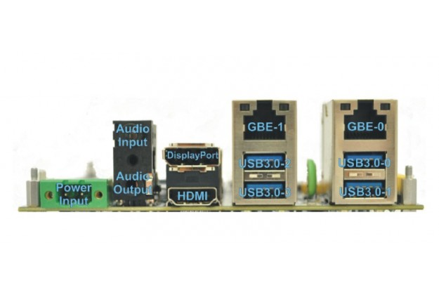 Connect Tech COM Express® Type 6 Ultra Lite Carrier Board panel view