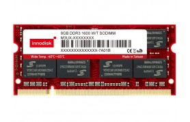 Innodisk DDR2 Wide Temp SODIMM - Up to 4GB Capacity