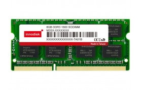 Innodisk DDR3 SODIMM - Up to 8GB Capacity