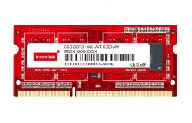Innodisk DDR3 Wide Temp SODIMM - Up to 8GB Capacity