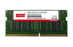 Innodisk DDR4 ECC SODIMM - Up to 16GB Capacity