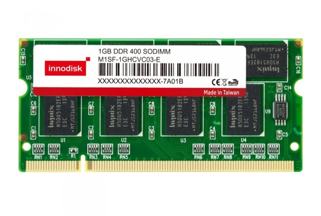 Innodisk DDR SODIMM - Up to 1GB Capacity