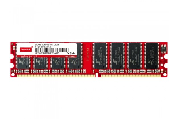 Innodisk DDR Wide Temp Long DIMM - Up to 1GB Capacity