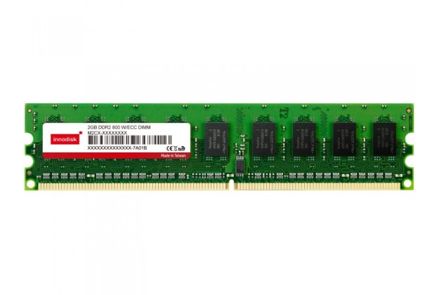 Innodisk DDR2 ECC Long DIMM - Up to 4GB Capacity