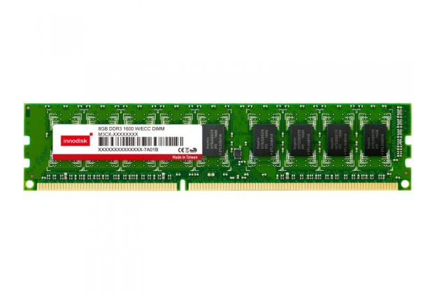 Innodisk DDR3 ECC SODIMM - Up to 8GB Capacity