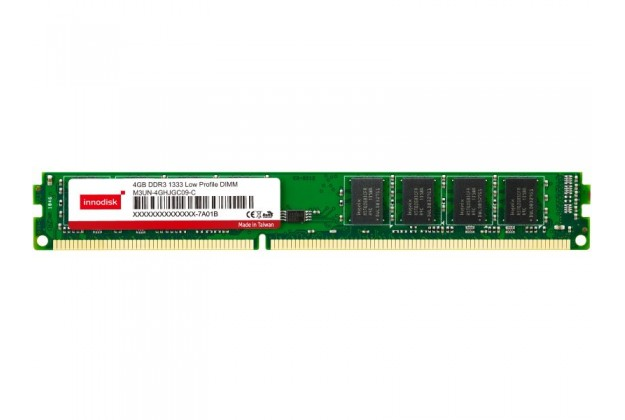 Innodisk DDR3 Low Profile DIMM - Up to 8GB Capacity