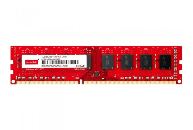 Innodisk DDR3 Wide Temp Long DIMM - Up to 8GB Capacity