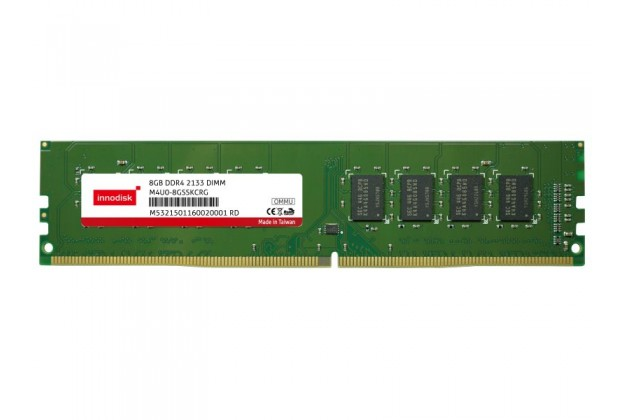 Innodisk DDR4 ECC Long DIMM - Up to 16GB Capacity