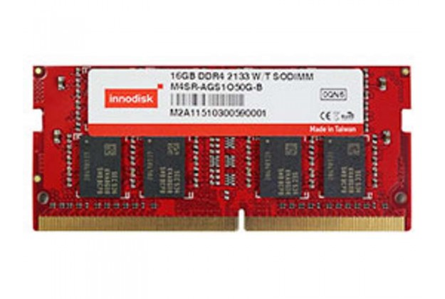 Innodisk Wide Temp DDR4 SODIMM - Up to 16GB Capacity