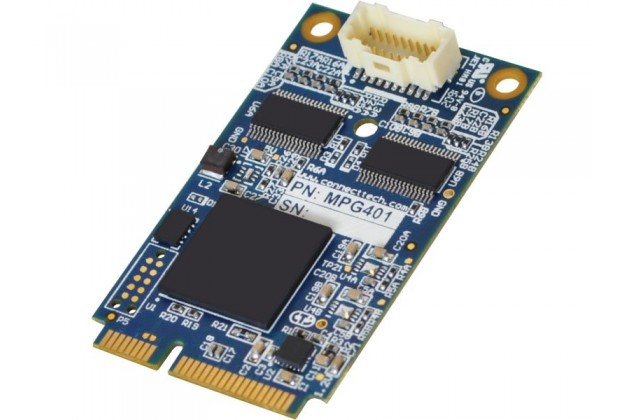 Connect Tech Mini PCIe ADC - Analog and Digital I/O PCIe MiniCard Module
