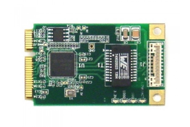 Diamond Systems DS-MPE-GE210 - Gigabit Ethernet PCIe MiniCard Module
