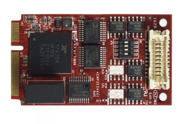 Innodisk EMP2-X4S1 - Mini PCIe Quad Isolated RS-485 Card