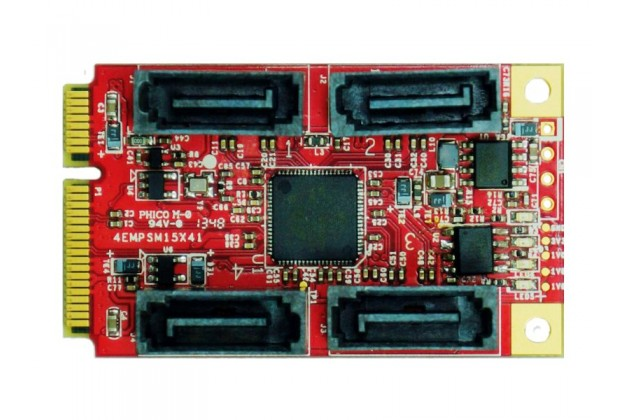 Innodisk EMPS-3401 - mPCIe to SATA III Adapter