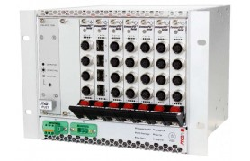 MEN NH30 - Rugged Half 19 Inch Managed Gigabit Ethernet Switch