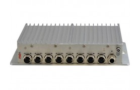 MEN NM10 - Managed 8-Port Rugged Ethernet Switch