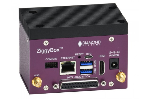 Diamond Systems Ziggy - Low-cost system for NVidia Jetson