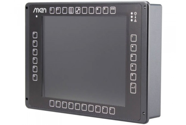 MEN DC15 - Rugged 10.4 Inch AMD G-Series Based Panel PC