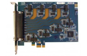 Connect Tech BlueStorm/Express Isolated - PCI Express 8 Port Isolated Serial Interface Card