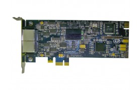 Connect Tech BlueStorm/Express LP Opto - PCI Express 2 Port Low Profile Serial Interface Card