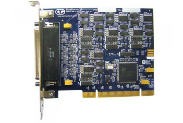 Connect Tech BlueStorm/SP - PCI 8 Port RS232 or RS422/485 Serial Interface Card
