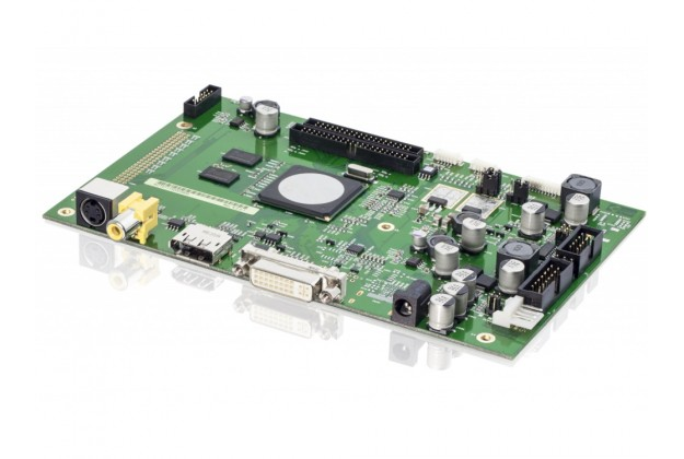 eCOUNT CRTtoLCD-71 - Flat Panel Controller Board, up to 1920×1200, DP, VGA & DVI input