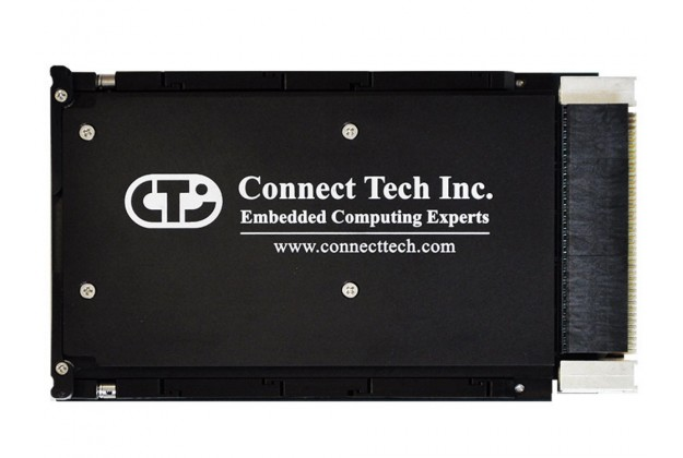 Connect Tech GraphiteVPX/CPU side view