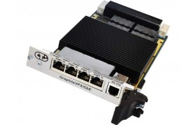 Connect Tech GraphiteVPX/Gbe - 3U 20 port Managed Ethernet Switch