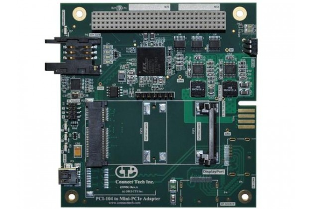 CTI PCI-104 to Mini-PCIe Adapter