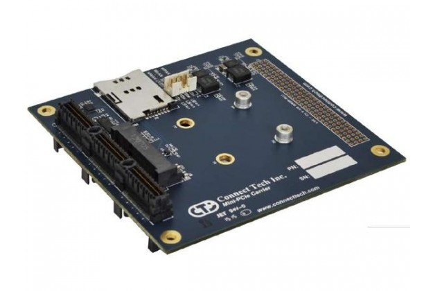 Connect Tech PCI/104-Express to Single/Dual Mini-PCIe Adapter
