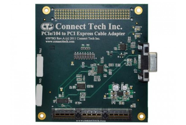 CTI PCIe/104 to PCI ExpressCable Adapter