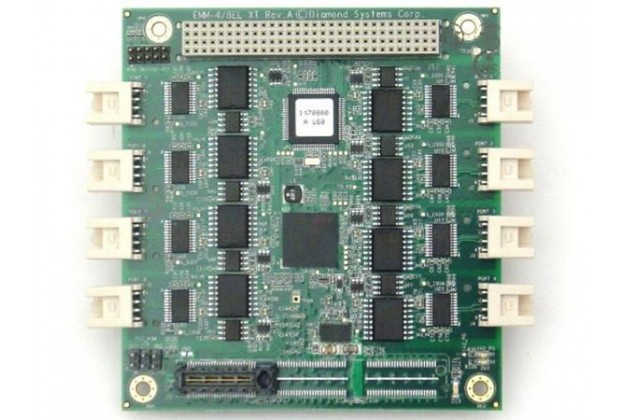 Diamond Systems Emerald-MM-8EL - PCI/104-Express Eight Port Serial Interface Card