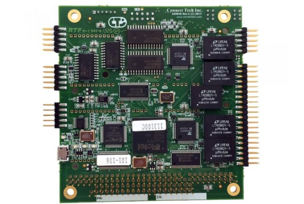 Connect Tech Xtreme/Multi-I/O - Dual CAN & Five Serial Port PC/104 Serial Card
