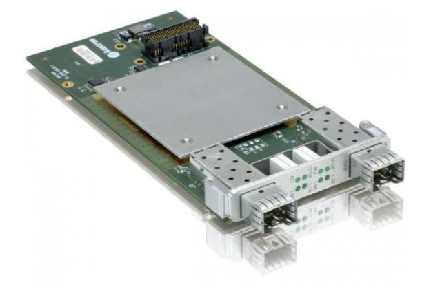 Kontron XMC401 - Dual 10 Gigabit Ethernet XMC with SFP+