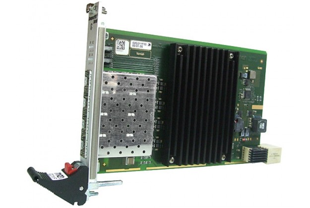 MEN G211F - 3U CompactPCI Serial Quad Fibre Gigabit Ethernet Board