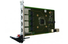 MEN G211 - 3U CompactPCI Serial Quad RJ45 Gigabit Ethernet Board