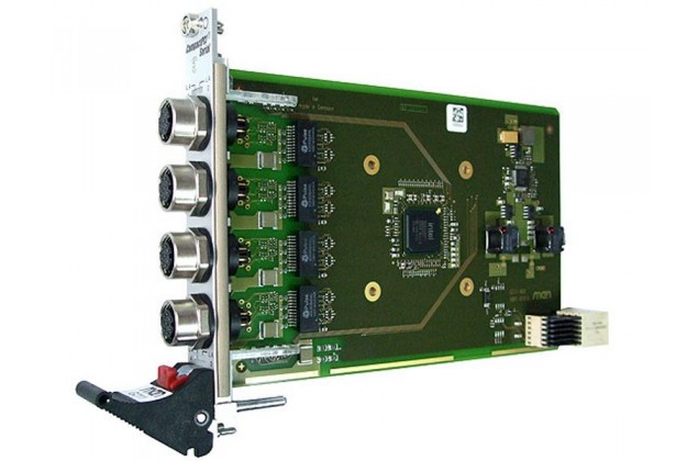 MEN Mikro G211 - 3U cPCI Serial Quad Gigabit Ethernet
