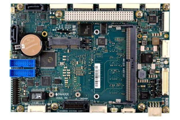 Diamond Systems Venus - 3.5 Inch Intel Core i7/i5 SBC