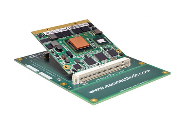 Connect Tech Qseven to COM Express® Adapter with Qseven module