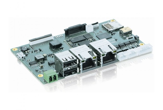 Kontron SOM-BL STM32MP157 - Triple Core ARM Motherboard angled view