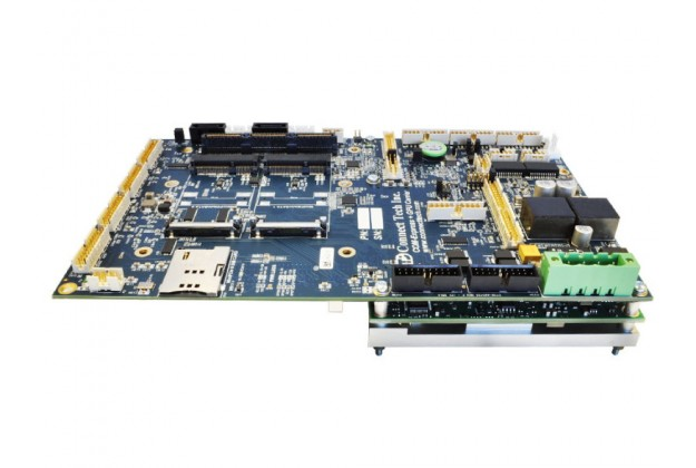 Connect Tech COM Express + GPU Embedded System side view