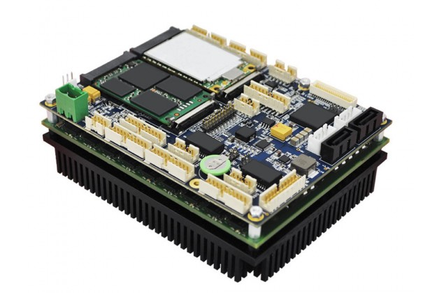 Connect Tech COM Express® Type 6 Rugged Ultra Lite Carrier Board with module fitted