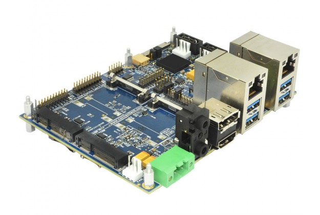 Connect Tech COM Express® Type 6 Ultra Lite Carrier Board side view