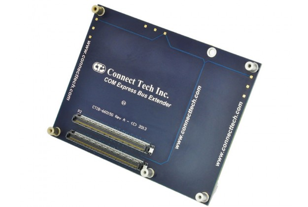 Connect Tech ADG053 - COM® Express Bus Extender angled view