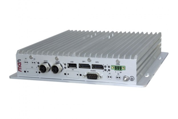 MEN BC51M - Rugged Intel Atom Box PC for Vehicle/Train Applications