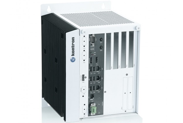 Kontron C-103-CFL-4 - High End Intel Core Gen 9 Industrial Box PC for Control Cabinet Applications