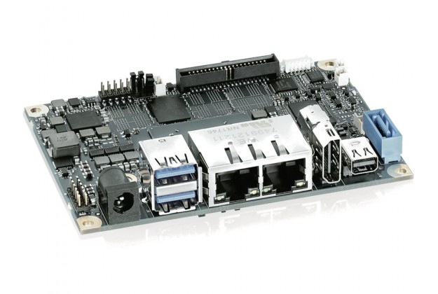 Kontron pITX-APL 2.0 - Embedded 2.5 Pico-ITX Motherboard with Intel Atom E39XX and Celeron N3350 CPU